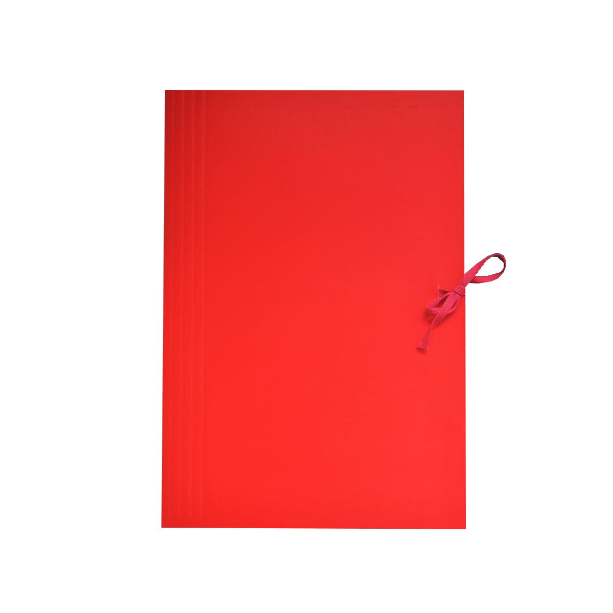 teczka-wiązana-kolorowa-czerwona