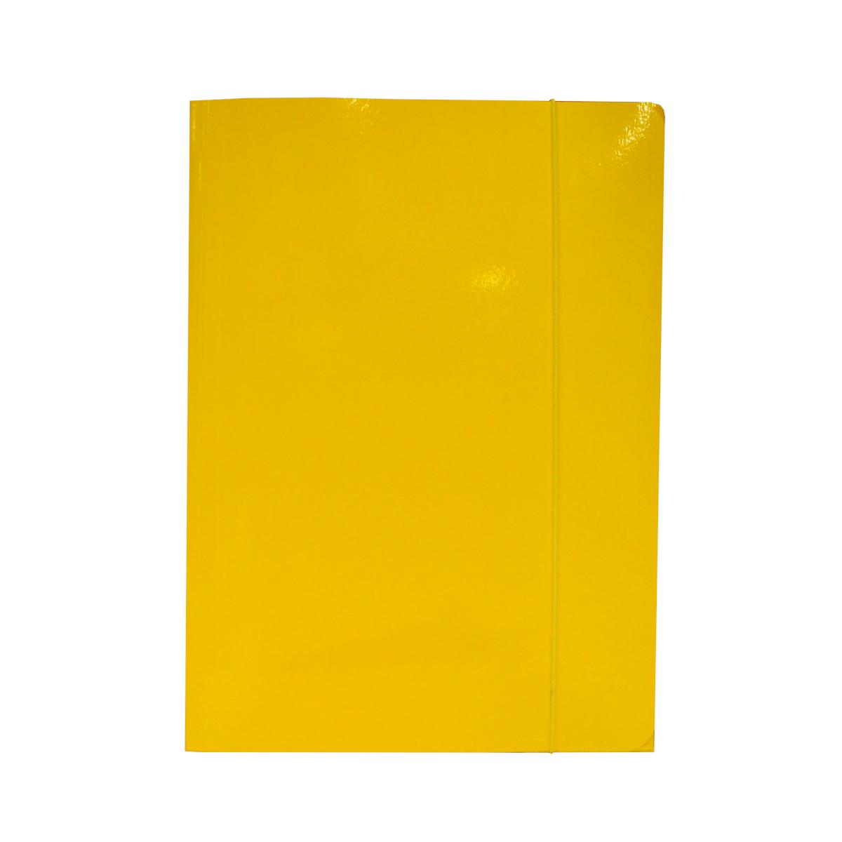 teczka-z-gumka-żółta-bigo