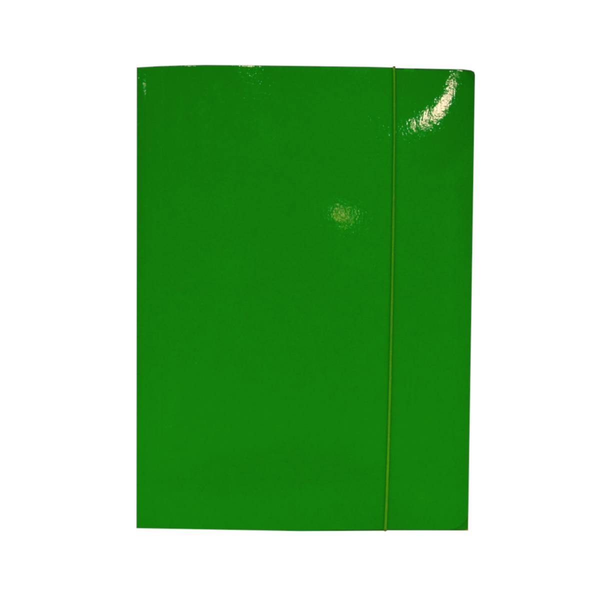 teczka-z-gumka-zielona