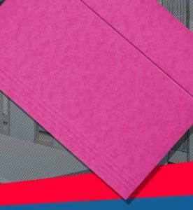 Bigo - Teczka A4 z gumka kolorowa preszpan