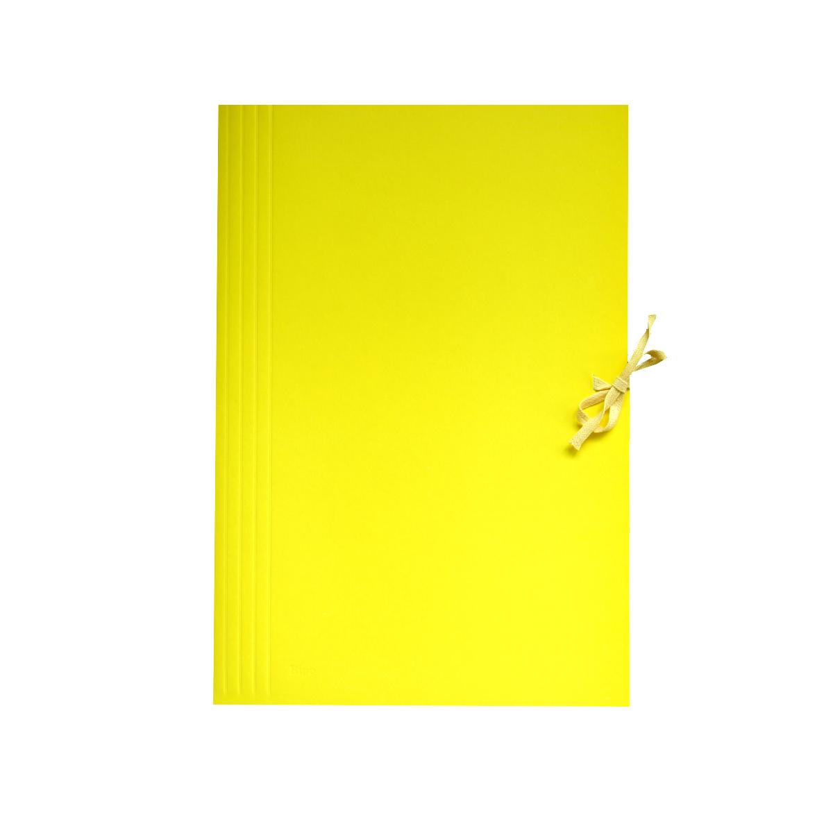 teczka-wiązana-żółta