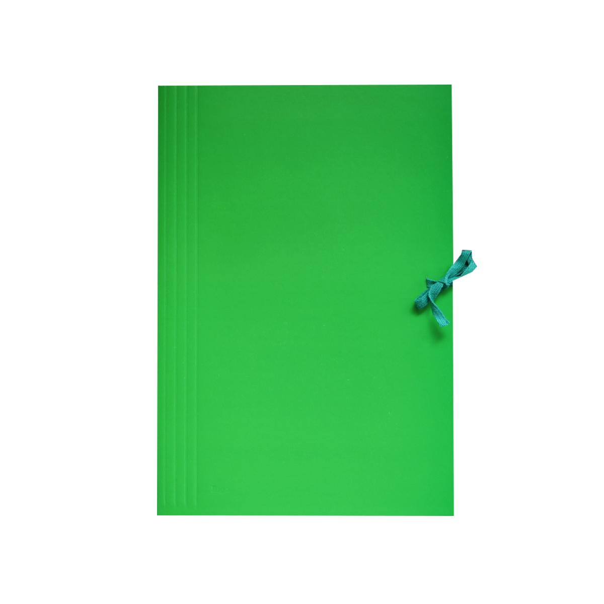 teczka-wiązana-kolorowa-zielona