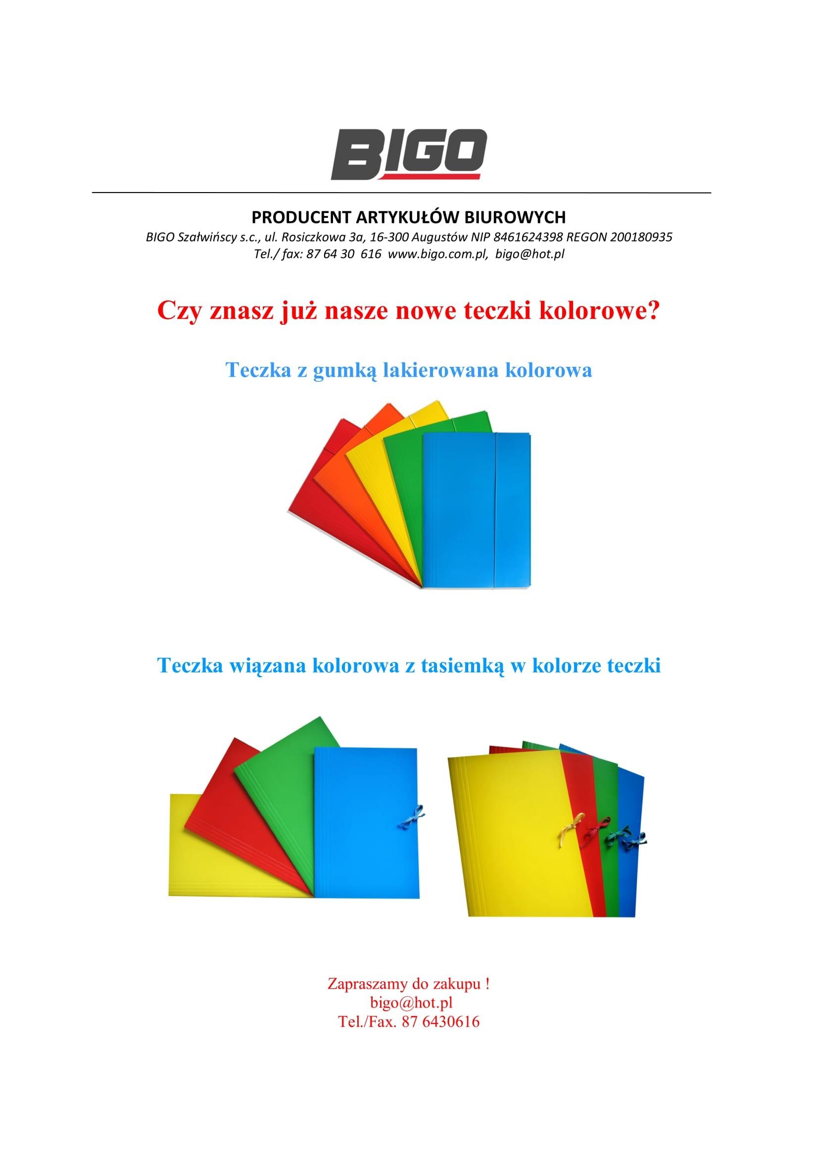 bigo oferta teczki kolorowe-1